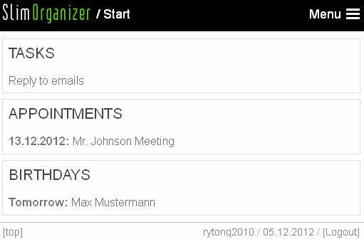 keep track of tasks
