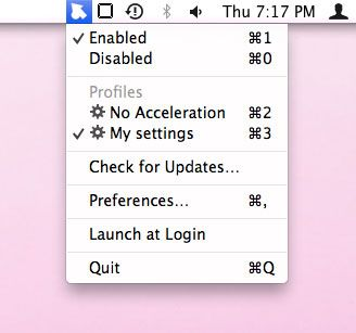 mac mouse acceleration settings