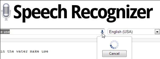 speech   Speech Recognizer: Recognize Your Speech & Convert It Into Text [Chrome]