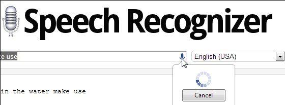 speech   Speech Recognizer: Recognize Your Speech & Convert It Into Text [Chrome]