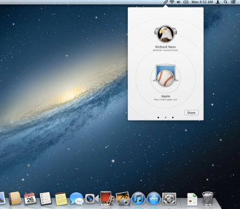 the great link   The Great Link: Share Webpage URLs From Your Desktop Through Bonjour [Mac]