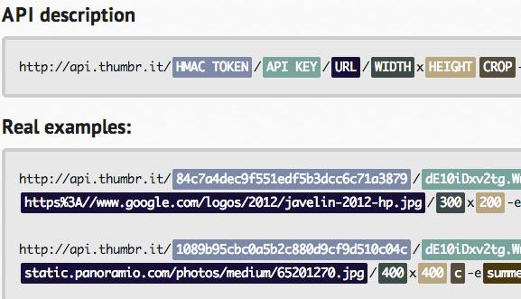 web based image editor with an api