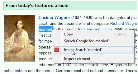 todays   Image Dictionary: Highlight Words in Chrome & Find Relevant Images Without Page Redirection