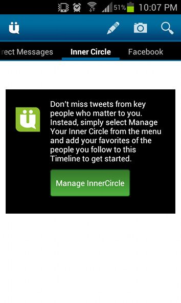 Take Control Of Your Twitter Account With UberSocial [Android 2.1+] ubersocial inner circle