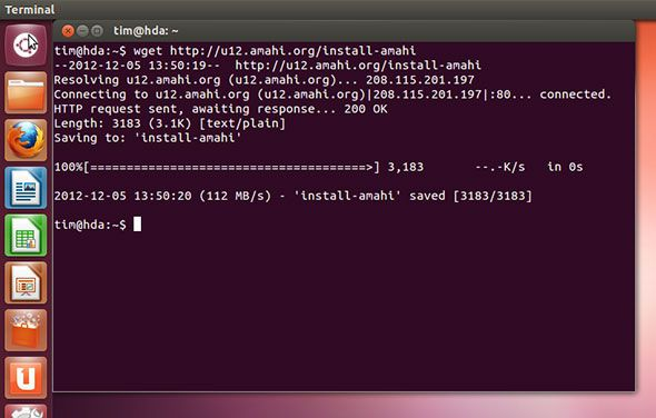 create ubuntu home server