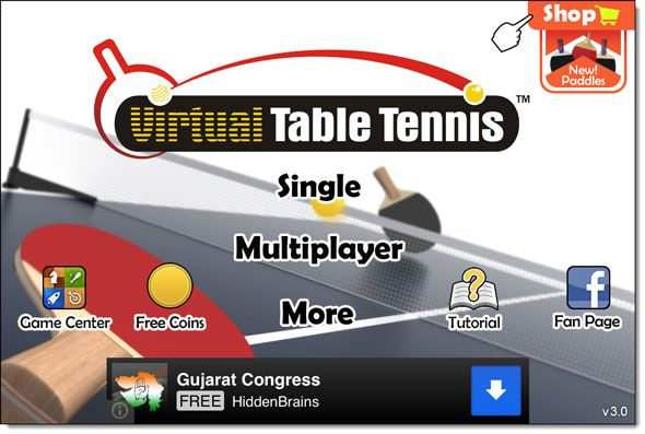 ping pong for ipad