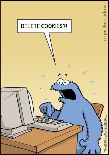 What's A Cookie & What Does It Have To Do With My Privacy? [MakeUseOf Explains] web cookies comic
