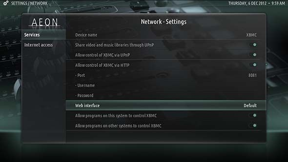 chrome xbmc remote