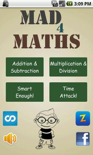 interactive math game for kids