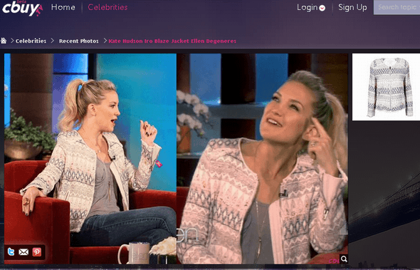 11   CBuy: Locate & Buy Clothing Items Worn By Celebrities On TV & Photos