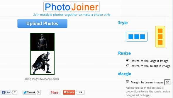 110   PhotoJoiner: Join Multiple Photos In a Photo Strip