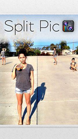 split pic