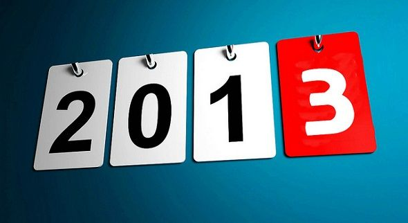 What Are Your Tech-Related Hopes for 2013? [You Told Us] 2013 calendar