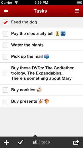 212   Task Paper: Set Your Task List As Your Lockscreen Wallpaper [iOS]