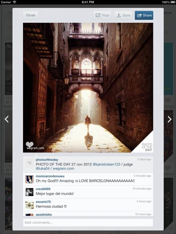 23   Padgram: An Instagram Viewer For iPad