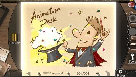 Animation   Animation Desk for iPhone: Create Hand Drawn Animations & Share With Friends (iOS) [15 Free Codes]