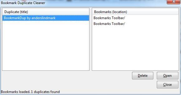 Bookmark Duplicate Cleaner1   Bookmark Duplicate Cleaner: Search & Delete  Duplicate Bookmarks On Firefox