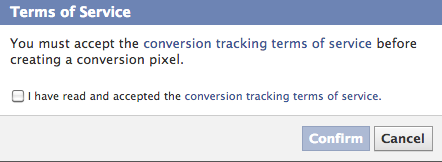 How To Use Facebook's Conversion Tracking Tool [Weekly Facebook Tips] Conversion Terms Service