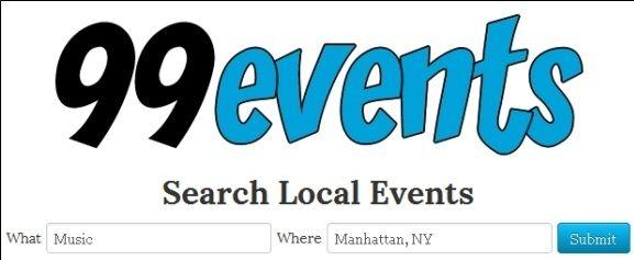 search local events