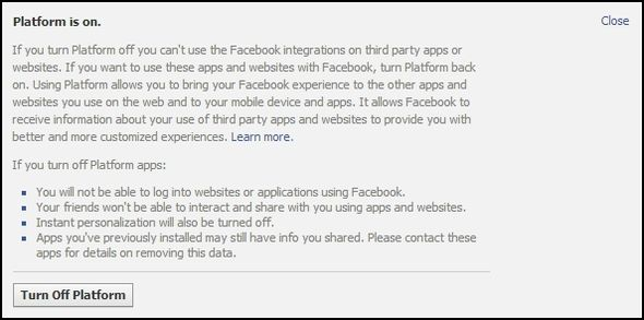 Are Your Social Friends Infecting You With Malware? Facebook App Settings Apps you use Platform