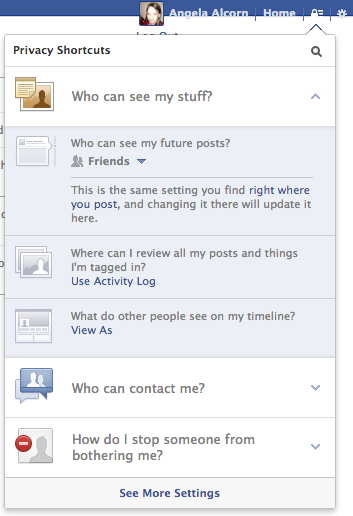 facebook graph privacy