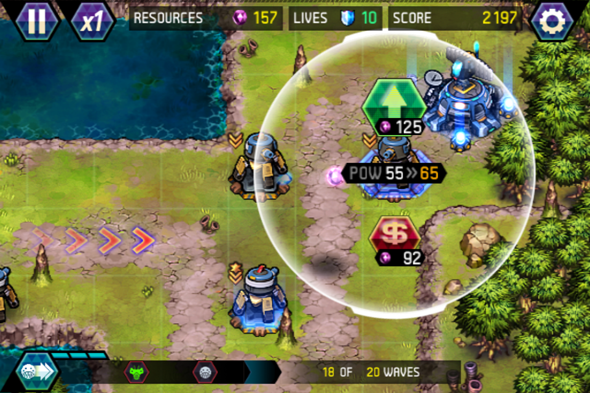 tower defense lost earth iphone