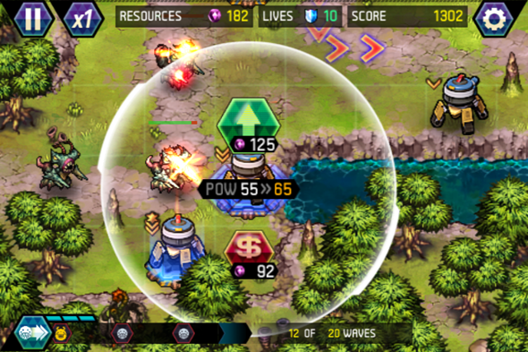 tower defense iphone games