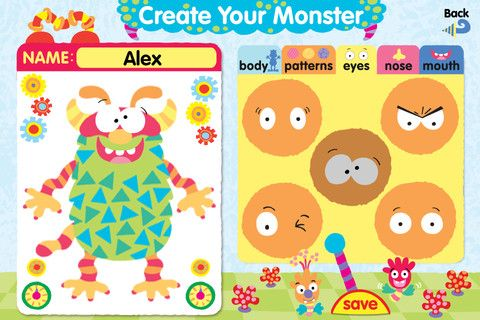 Moody Monster Manor: Help Children Recognize & Deal With Different Emotions [iOS] Moody Monster Manor2