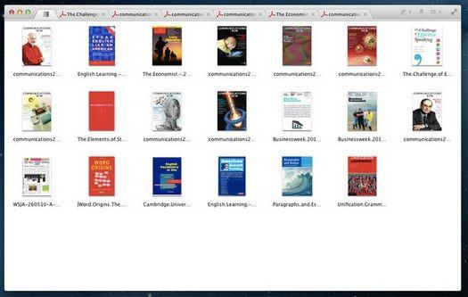 tabbed pdf reader mac