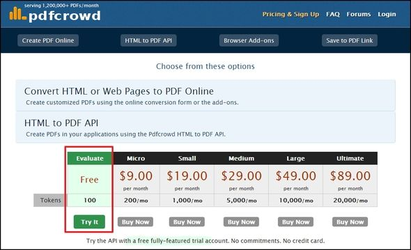 Send To Google Docs - Convert HTML To PDF & Save It In A Single Click [Chrome] Pdfcrowd sign up