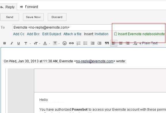 Powerbot for Chrome: Import Notes Into Gmail & Save Email Threads As Notes Powerbot for Chrome1