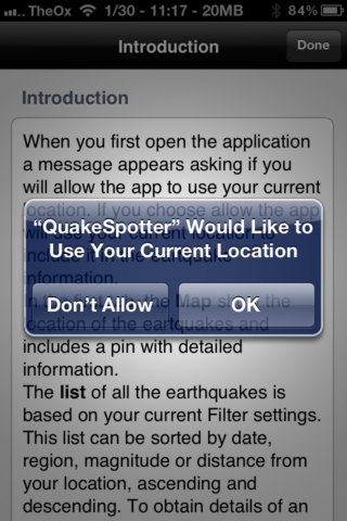 Quake Spotter - An Easy To Use Way To Track Earthquakes [iOS, Paid Apps Free] QuakeSpotter01