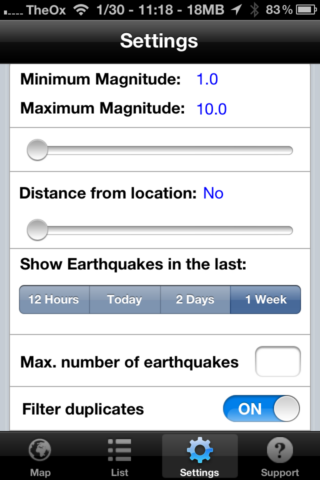 Quake Spotter - An Easy To Use Way To Track Earthquakes [iOS, Paid Apps Free] QuakeSpotter05