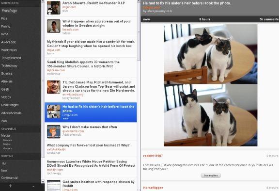 Reeddit   Reeddit: A Cool Web Application To Browse Reddit