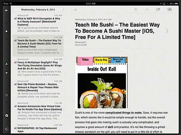 reeder rss ipad