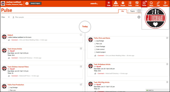 ScreenShot   Strikebase: Plan & Collaborate With This Work Management Web App
