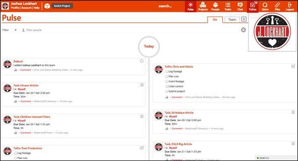 ScreenShot   Strikebase: Plan & Collaborate With This Work Management Web App