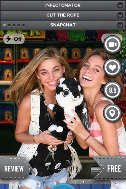 Snapchat   3 Magic Shots: Get The Best Premium, Paid & Free Application From The iTunes App Store