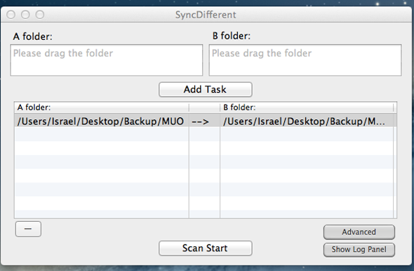 sync files on your mac