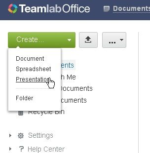 Teamlab   TeamLab: A Comprehensive Online Document Editor Based On HTML 5