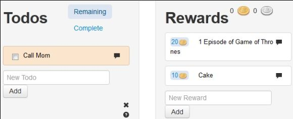 Todos   HabitRPG: Monitor Your Goal Progress Daily & Earn Rewards Like a Role Playing Game