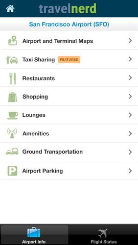 TravelNerd   Airports by TravelNerd: Navigate Through Airports On Your iOS Device