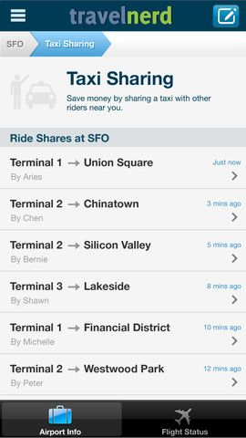 Airports by TravelNerd: Navigate Through Airports On Your iOS Device TravelNerd2