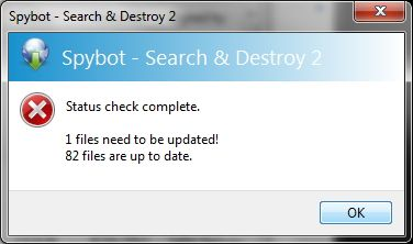 Spybot - Search & Destroy: The Simple, Yet Effective Route For Cleaning Your PC Of Malware Update needed