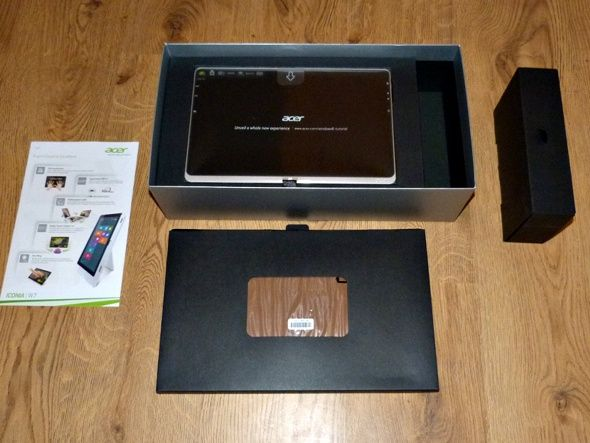acer iconia W7 tablet pc