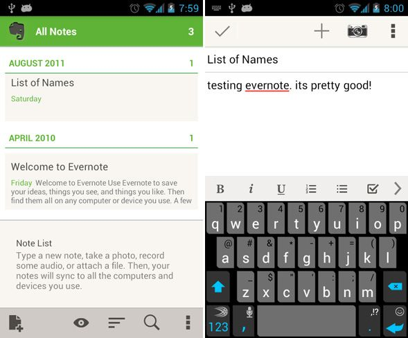 best note taking app on android