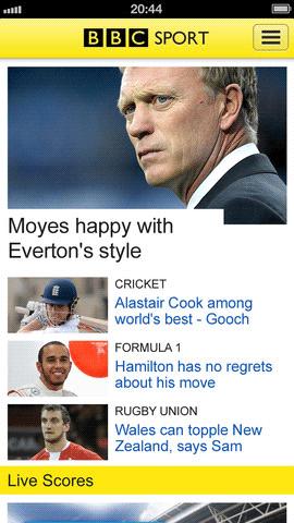 uk sports updates