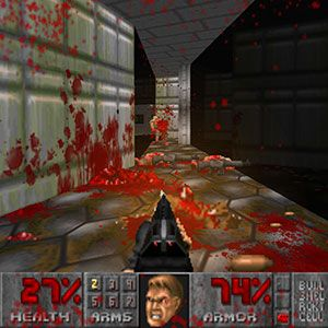 Paint The Walls Red Like It's 1993 With Brutal Doom [MUO Gaming]