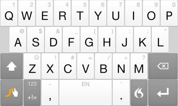 top android keypad