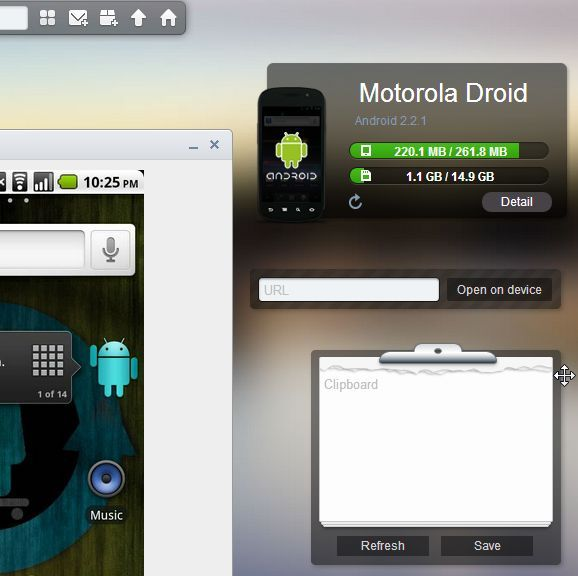 how to transfer data from pc to android